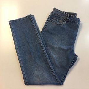 Coldwater Creek Jeans Natural Fit Slim Leg Size 12